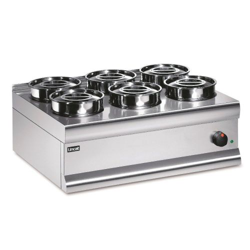 Lincat BS7 Stainless Electric Round Pot Dry Heat Bain Marie